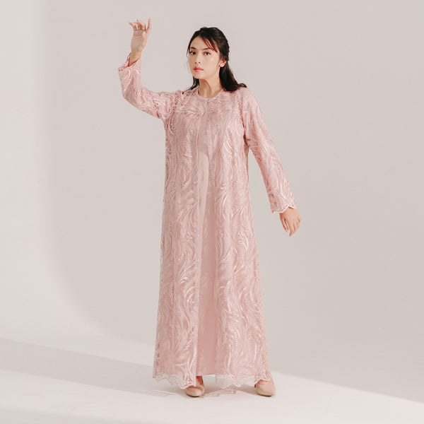 Lace Dress Dusty Pink (Reject)