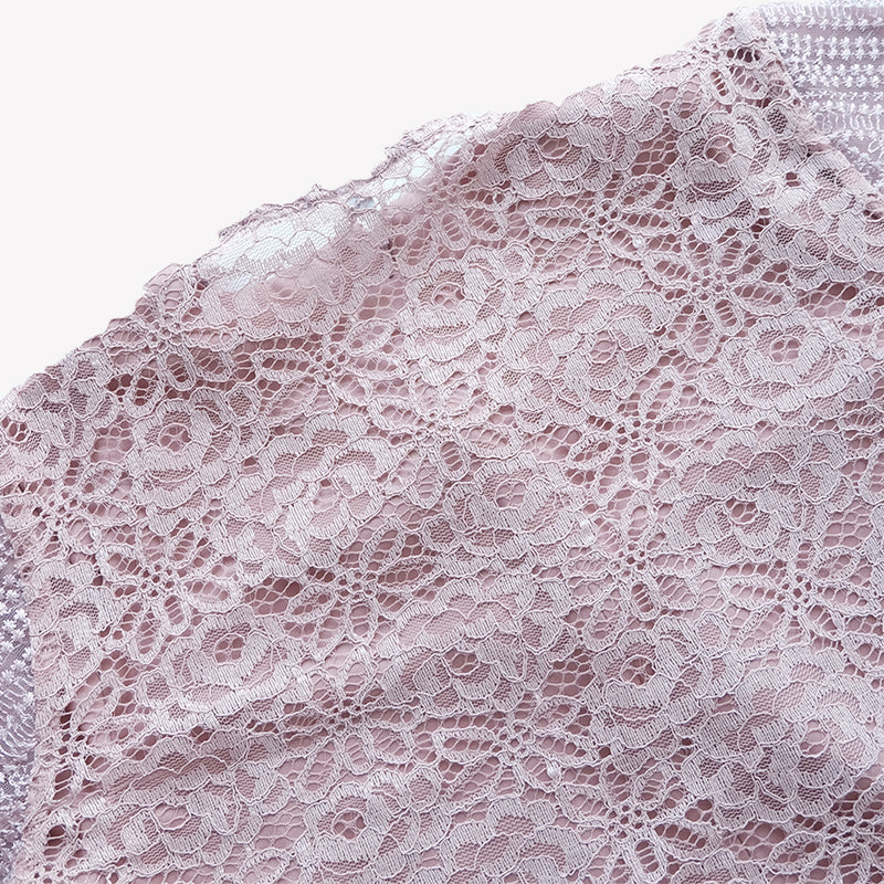 Lace Dress Deep Rose