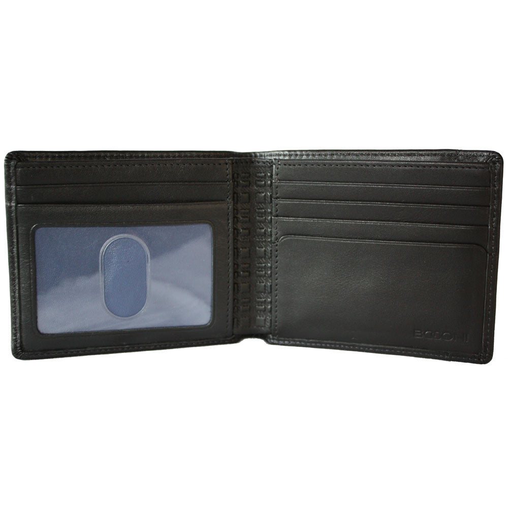 Collins Calf Rock Solid RFID Billfold in Black