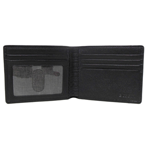 Grant RFID Billfold in Black with gray