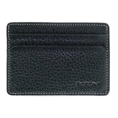 Tyler Tumbled Rock Solid RFID Weekender ID Card Case in Black