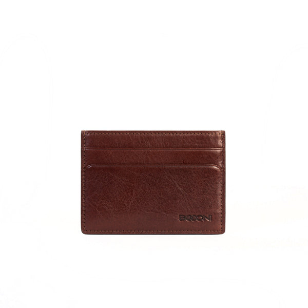 Becker Weekender ID Card Case in Whiskey