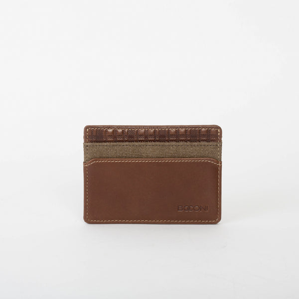 Bryant LTE Weekender ID Card Case in Mahogany & Heather