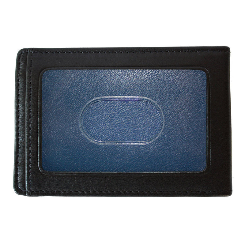 Collins Two Fold Money Clip Card Case