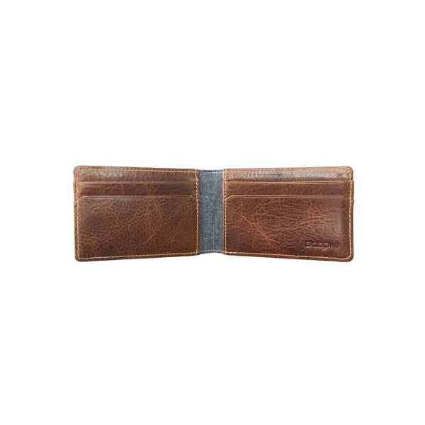 Caleb LTE Two Fold Money Clip Card Case