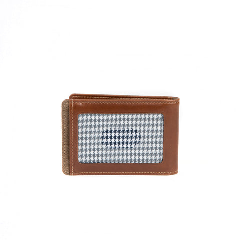 Bryant LTE Two Fold Money Clip in Mahogany & Heather
