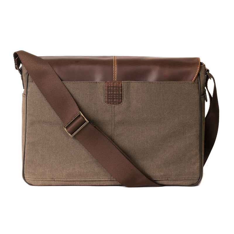 Bryant LTE Slim Double Buckle Messenger