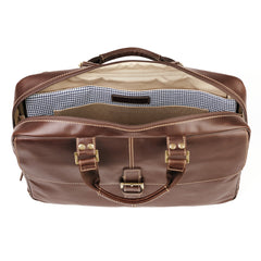 Bryant Laptop Breif Bag in Antiqued Mahogany