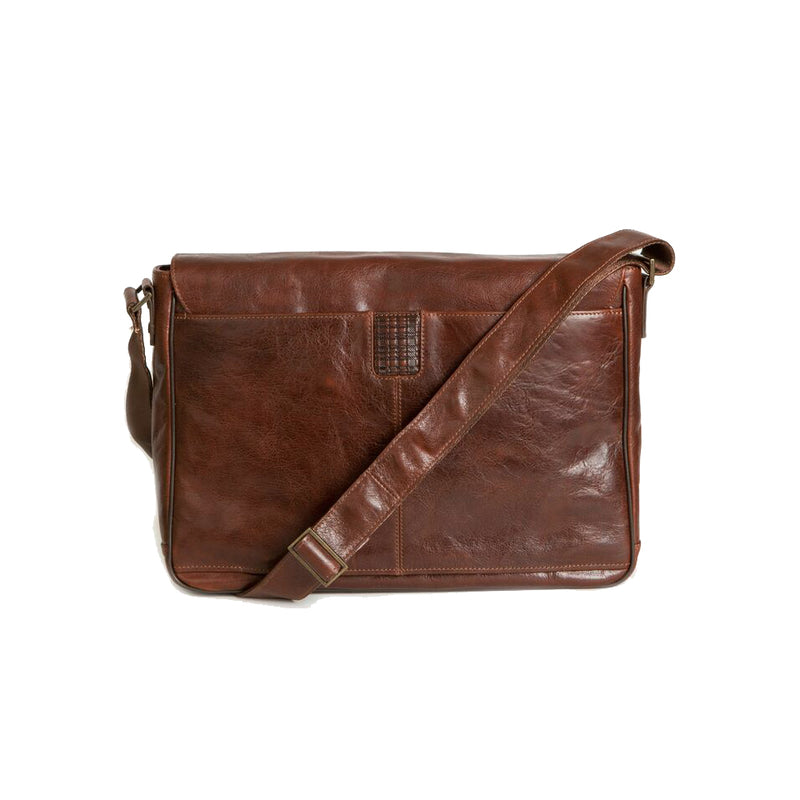 Becker Buckle Messenger Bag