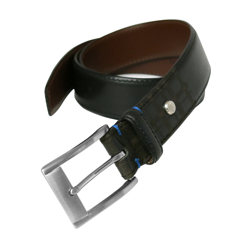 Collins Leather Belt in Black