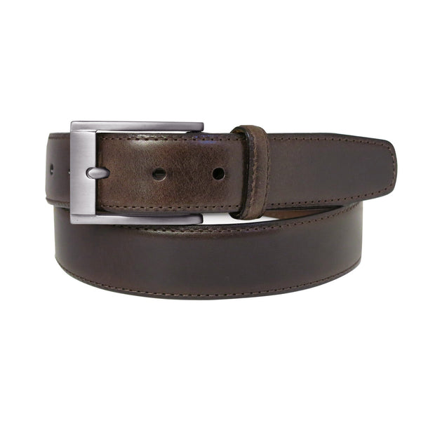 Collins Leather Belt in Brown