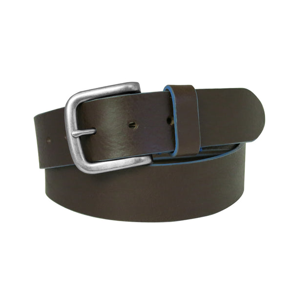 Bastian Leather Belt in Brown