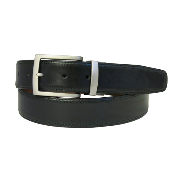 Xavier Belt in Black/Brown