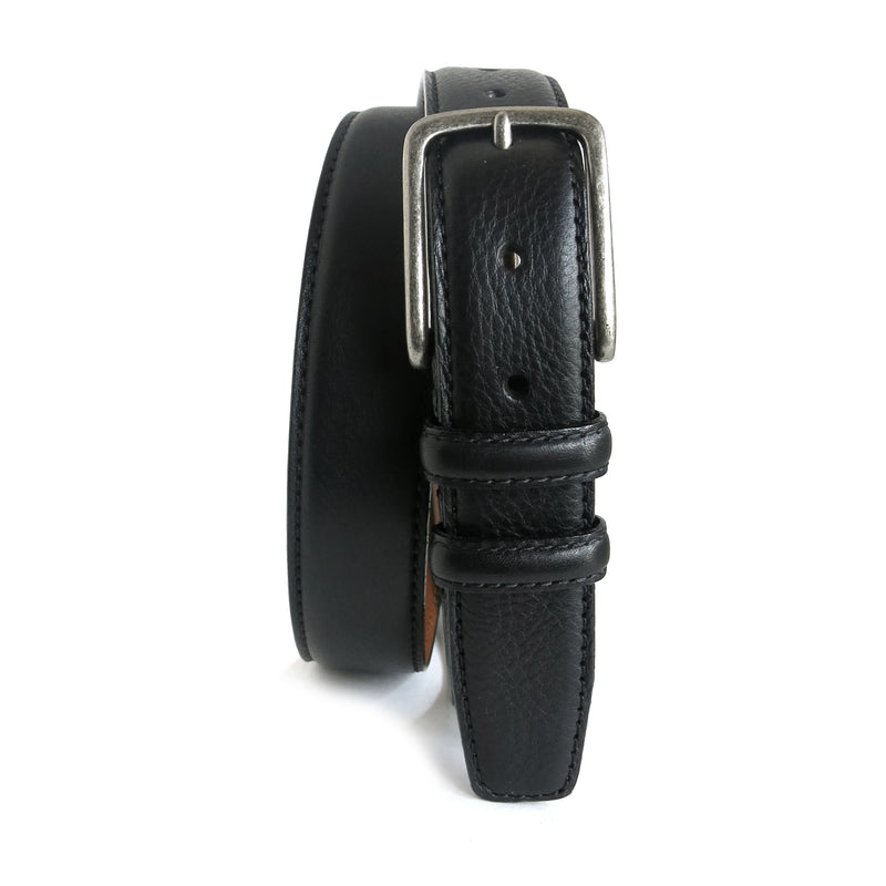 Clapton Leather Belt in Black