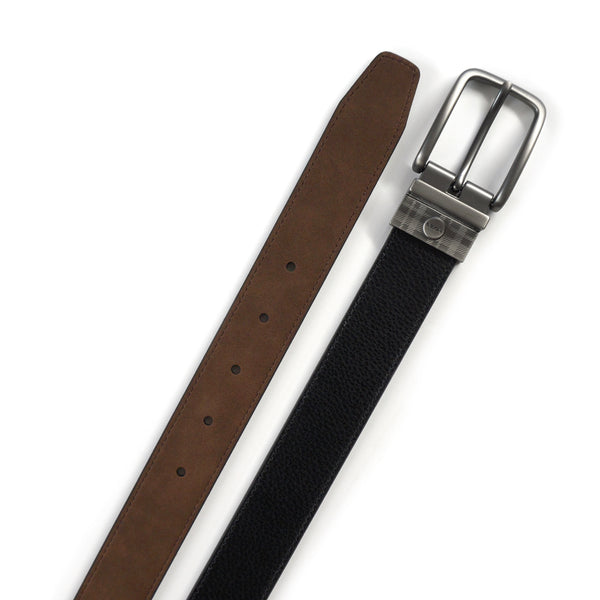 Taylor Reversible Belt in Black/Brown