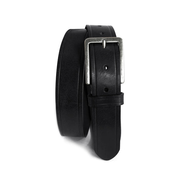 Bono Leather Belt in Black