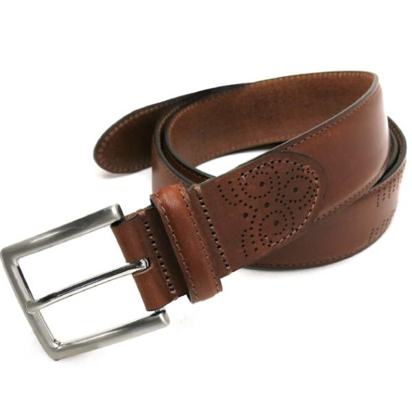 Davis Belt in Cognac