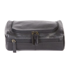 Black Zip Around Travel Kit in Becker