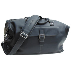 Tyler Tumbled Cargo Duffle in Black
