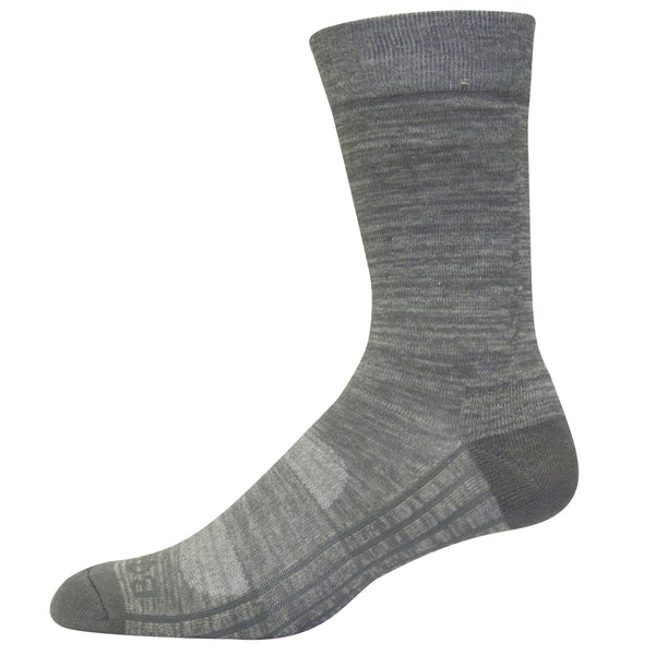 Heathered Crew Sock