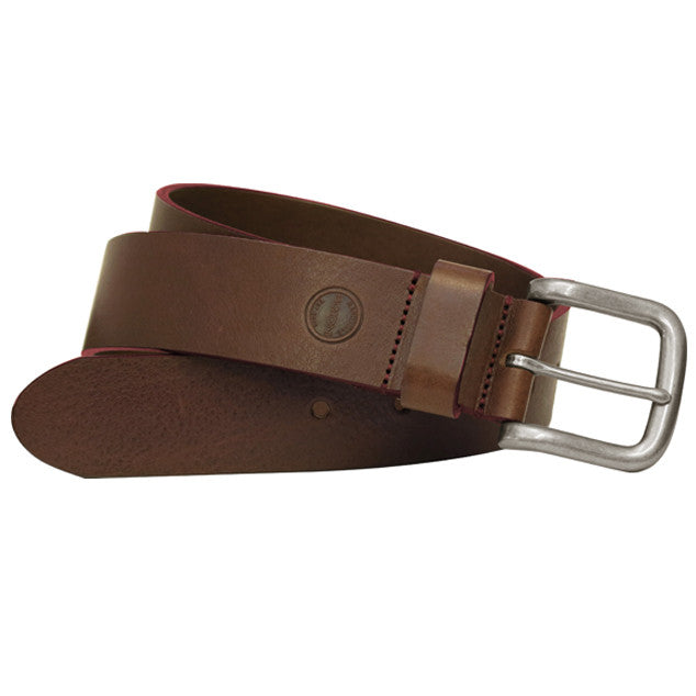 Bastian Leather Belt in Cognac