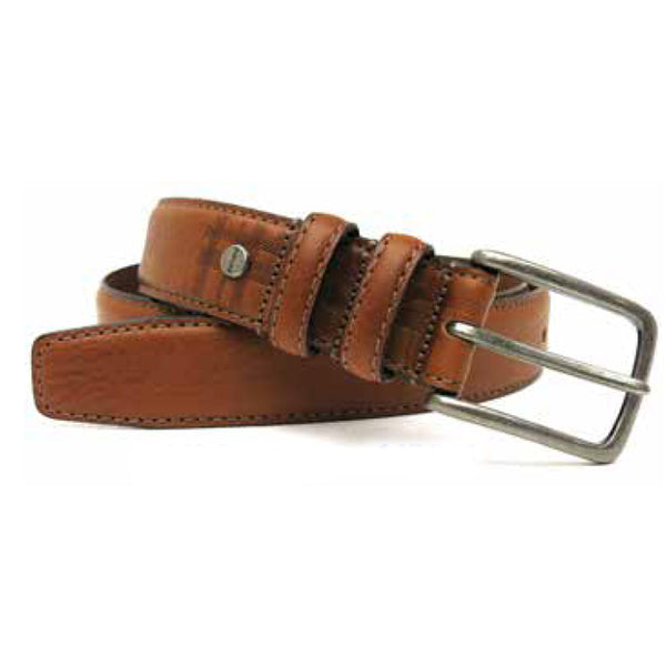 Clapton Leather Belt in Cognac