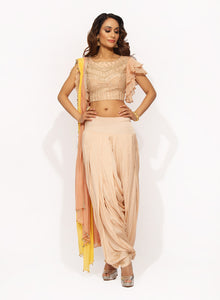 Peach Trouser Set SS004