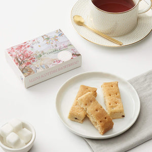 2 Pack Cherry Blossom Chocolate Shortbread