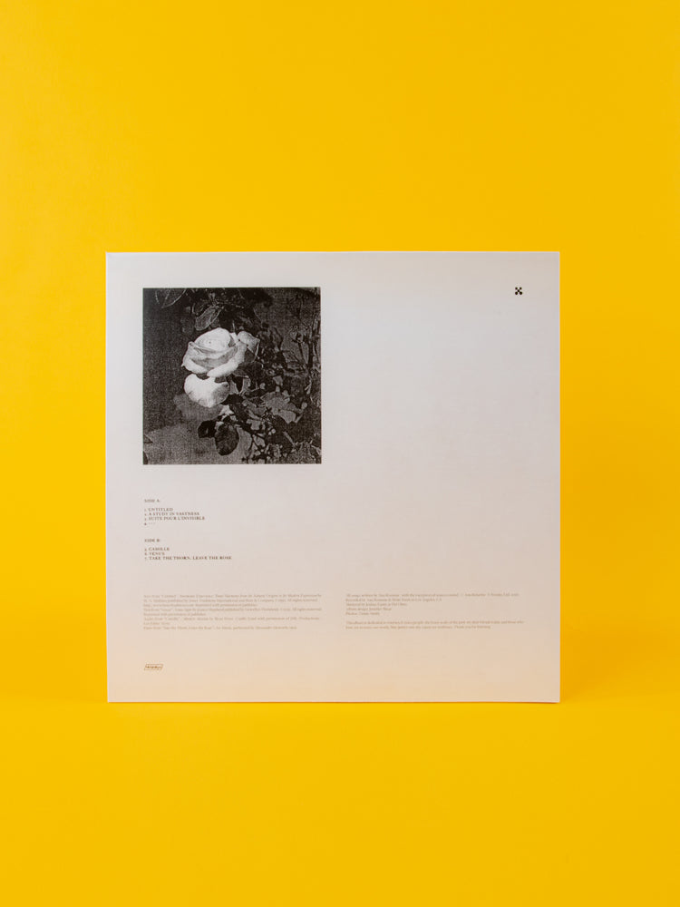 "Load image into Gallery viewer, ANA ROXANNE - BECAUSE OF A FLOWER 12"" VINYL LP"
