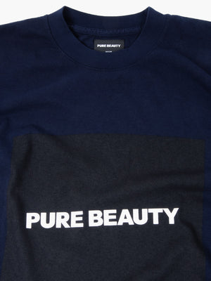 Load image into Gallery viewer, PB NAVY S/S BOX LOGO T-SHIRT