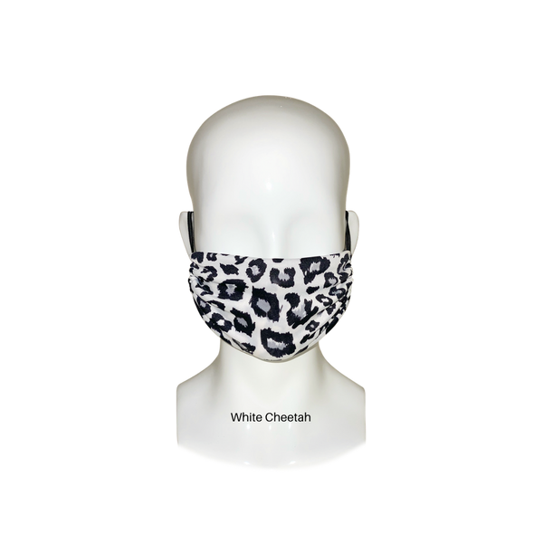 Ladies Animal Print Face Mask Pack of 3