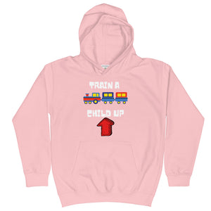 Train A Child Up Kids Hoodie