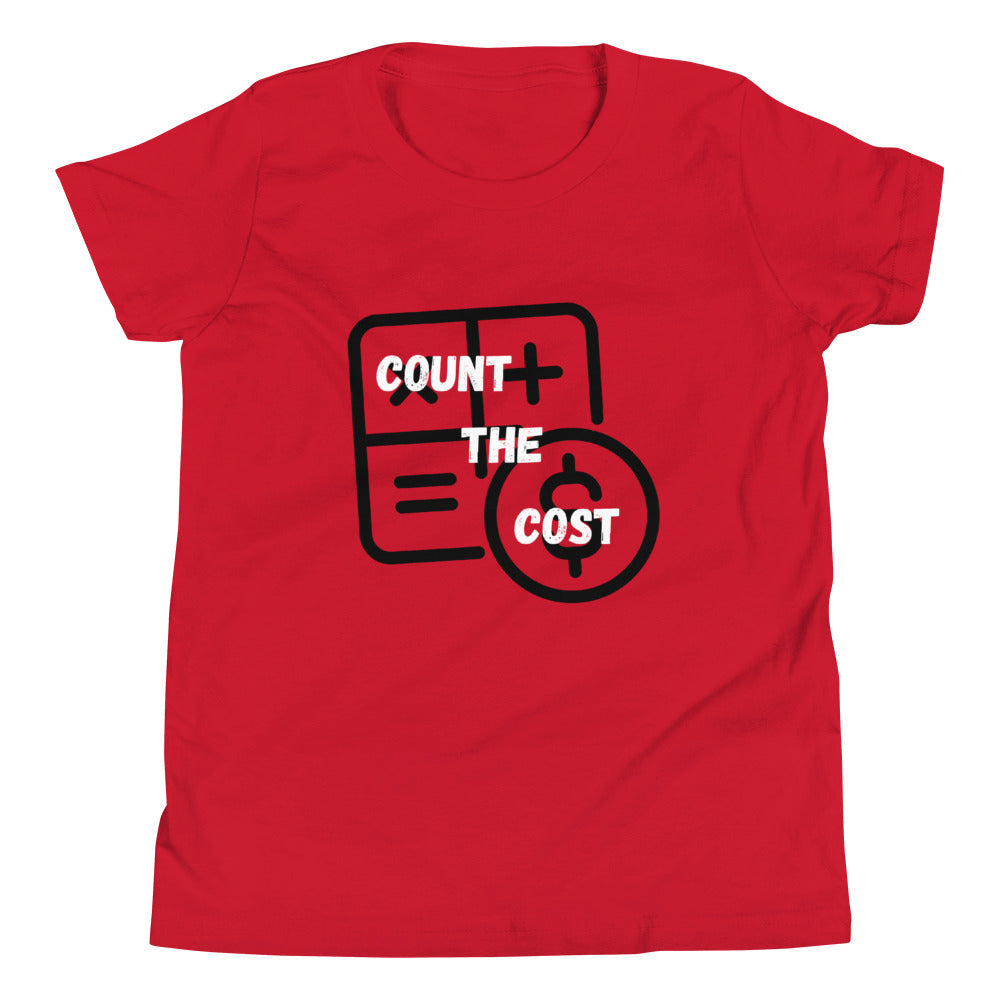 Count The Cost Kids T-Shirt