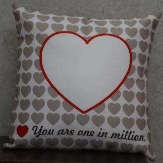 Personalized You Are One In Million Cushion
