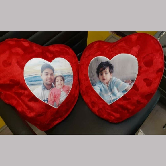 couple cushion 2 heart