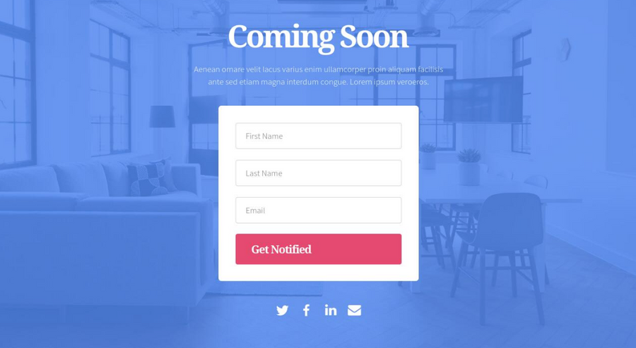 Landing Page - The Elite Suite