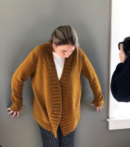 New sweater in Woolfolk Flette - coming soon!