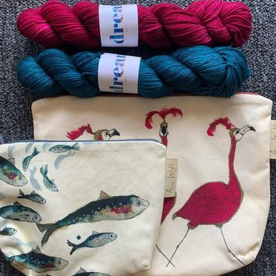 Zipper Pouch in Heartland Retail Items | String Theory Yarn Co