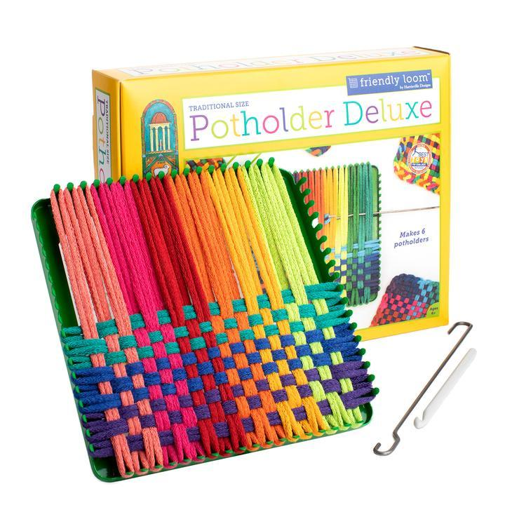 Potholder Loom Deluxe - makes six in Kits | String Theory Yarn Co