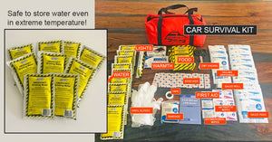 Car Survival Kit Content Checklist: 5 Must-Have Supplies To Survive in a Real-World Life-Threatening Emergency