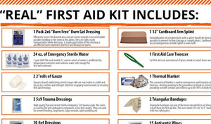 "How To Build Your Own ""Real"" First Aid Kit"