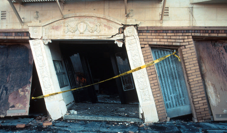 Why A Doorway Isn't Safe During An Earthquake