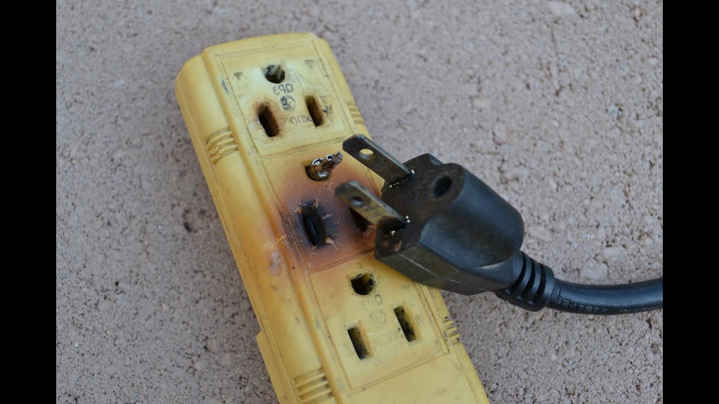 Why should you plug only one heat-producing appliance into an electrical outlet at a time? (more safety tips)