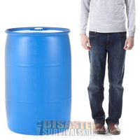 55 Gallon Water Barrel oi3yy6
