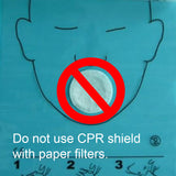 CPR mas with paper filters il0eak