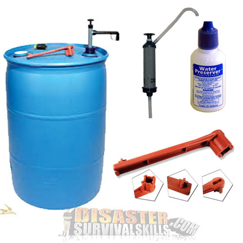 Emergency Water Barrel package claz8j