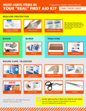 First Aid Infographic hqpi3d
