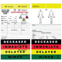 Triage Tags exvesu