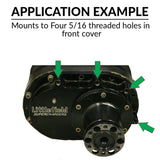 Starter Bracket - Littlefield front cover mounted