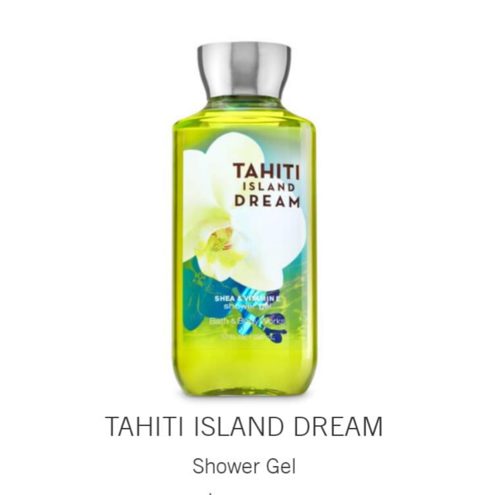 Shower Gel Tahiti Island Dream